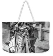 Four Foot Nuthin' 2 Bw Weekender Tote Bag