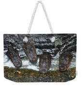 Four For Lunch Weekender Tote Bag