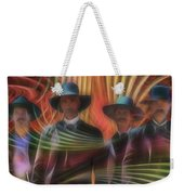 Four Horsemen - Square Version Weekender Tote Bag