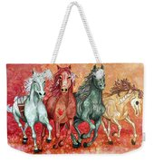 Four Horses Of The Apocalypse Weekender Tote Bag