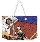 Four Humors: Melancholia Weekender Tote Bag