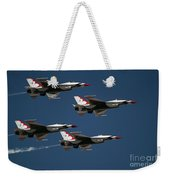 Four In Flight Weekender Tote Bag