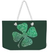 Four Leaf Clover Weekender Tote Bag