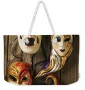 Four Masks Weekender Tote Bag