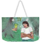 Four Of Cups Illustrated Weekender Tote Bag