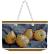 Four Pears Weekender Tote Bag