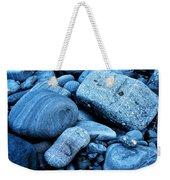 Four Rocks In Blue Weekender Tote Bag