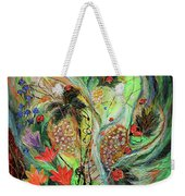Four Seasons Of Vine Summer Weekender Tote Bag