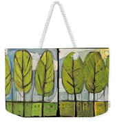 Four Seasons Tree Series Weekender Tote Bag
