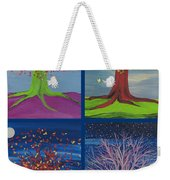 Four Seasons Trees By Jrr Weekender Tote Bag