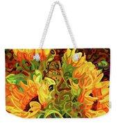 Four Sunflowers Weekender Tote Bag