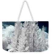 Four Tropical Pines Infrared Weekender Tote Bag