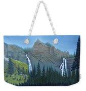 Fourmile Falls And Fall Creek Falls Weekender Tote Bag