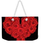 Fourteen Roses Weekender Tote Bag by Wim Lanclus