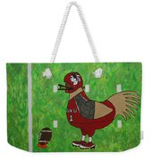 Fourth And Goal Weekender Tote Bag
