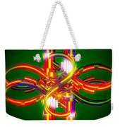 Fourth Dimension Weekender Tote Bag