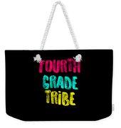 Fourth Grade Tribe Light Fourth Grade 4th Teacher Appreciation Gift Cute Weekender Tote Bag