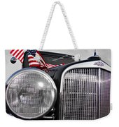 Fourth Of July-chevvy  Weekender Tote Bag by Douglas Barnard