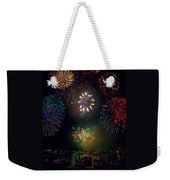 Fourth Of July Fireworks Weekender Tote Bag