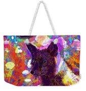 Fox Animal Tuscany  Weekender Tote Bag