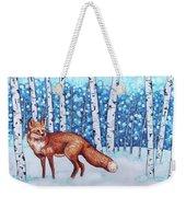 Fox Forest Weekender Tote Bag