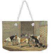 Fox Hounds Weekender Tote Bag