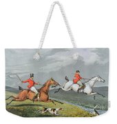 Fox Hunting - Full Cry Weekender Tote Bag
