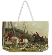 Fox Hunting Going Into Cover Weekender Tote Bag