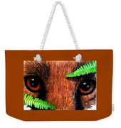 Fox In Hiding Weekender Tote Bag