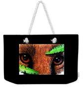 Fox In Hiding Weekender Tote Bag