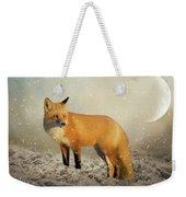 Fox In The Snowstorm - Painting Weekender Tote Bag