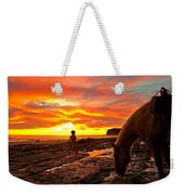 Fox In The Tidepools Weekender Tote Bag