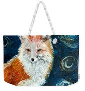 Fox Red  Painting  Weekender Tote Bag