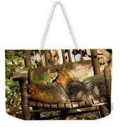 Foxes In A Chair Weekender Tote Bag