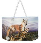 Foxes   Fundamental Foresight Foundation  Weekender Tote Bag