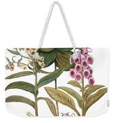 Foxglove And Herb Paris Weekender Tote Bag