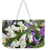 Foxglove Fancy Weekender Tote Bag