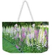 Foxglove Garden Weekender Tote Bag