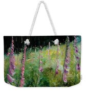 Foxgloves Weekender Tote Bag