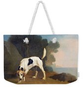 Foxhound On The Scent Weekender Tote Bag