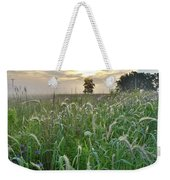 Foxtail Grasses In Glacial Park Weekender Tote Bag