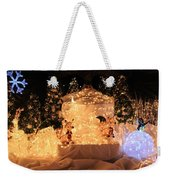 Foxy Christmas Decoration Weekender Tote Bag
