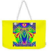 Fractal 31 Psychedelic Love Explosion Weekender Tote Bag