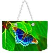 Fractal Butterfly Weekender Tote Bag