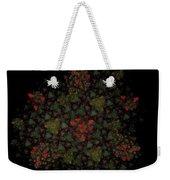 Fractal Christmasbouquet  Weekender Tote Bag