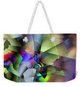 Fractal Cubism Weekender Tote Bag