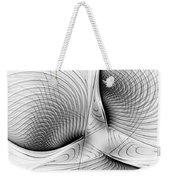 Fractal Design -bw 01-  Weekender Tote Bag
