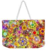 Fractal Floral Study 2 Weekender Tote Bag