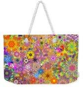 Fractal Floral Study 3 Weekender Tote Bag