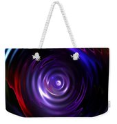 Fractal Lake Weekender Tote Bag